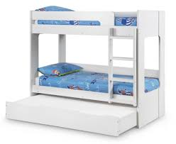 White Bunk Bed With Trundle A White Bunk Bed With Trundle Can Help Cure Sibling Rivalry