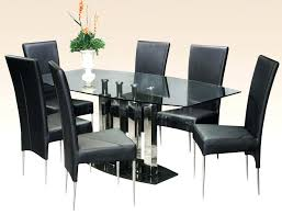 rectangle glass dining room table rectangle glass dining room table springupco for rectangular dining