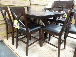 costco dining room sets bayside furnishings savonne counter height dining set costco 2