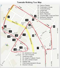 St Joseph River Map Townsite Walking Tour Map 1 U00262 Jpg
