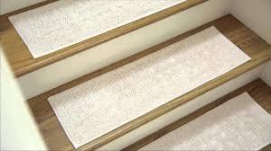carpet stair treads rubber backing installing carpet stair