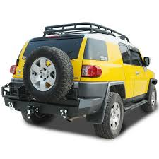 fj cruiser 07 14 toyota fj cruiser rear bumper w led