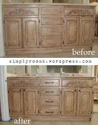 Old World Bathroom Ideas Project Transforming Builder Grade Cabinets To Old World Ascp