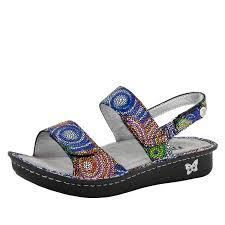 Comfort Sandals For Women Alegria Verona Bullseye Sandals Shop Alegria Shoes