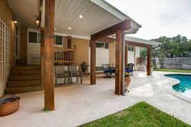 backyard deck ideas patio traditional with beams covered patio