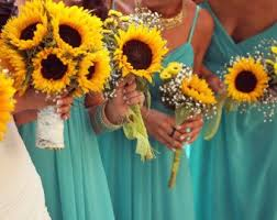 Sunflower Wedding Bouquet The 25 Best Sunflower Bridal Bouquets Ideas On Pinterest