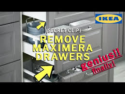 how to remove ikea kitchen cabinet doors how to remove ikea maximera drawers