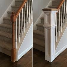 how to make a banister for stairs rebuild on instagram before and almost after of the stair railing