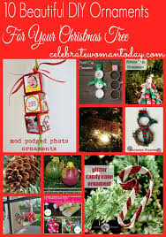 10 beautiful diy ornaments for your tree