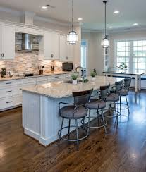 stone backsplash ideas with kitchen isl and kitchen traditional