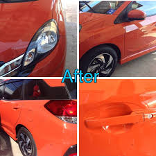 honda mobilio philippines glass coat honda mobilio 2015 sunset orange samurai carcoating