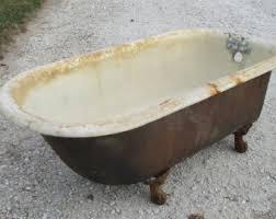 Cast Bathtub Claw Foot Tub Etsy