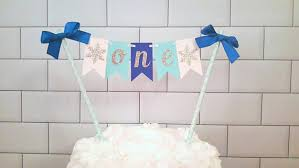 winter onederland cake topper winter onderland cake bunting boy