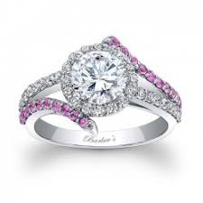 pink and black engagement rings barkev s black diamond engagement ring bc 7857lbk