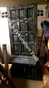 This Old House Entry Bench Hall Tree Mud Room Bench Old Wooden Door Hall Tree