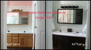 master bathroom makeover under 100 mom gone frugal