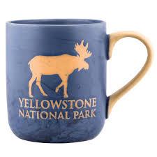 marble moose mug