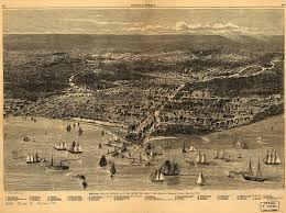 Downtown Chicago Map Chicago Fire Of 1874 Wikipedia