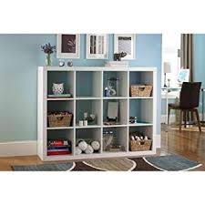 amazon com better homes and gardens 9 cube organizer storage