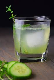cucumber martini recipe cucumber gin and thyme fizz recipe kitchen swagger