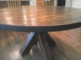 custom made farm tables kitchen table built in table and chairs custom console table