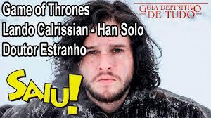 Lando Calrissian Meme - nerd saiu spoiler game of thrones doutor estranho e lando