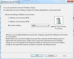 resetting battery windows 7 reset sony vaio laptop battery life extender from 80 to 100
