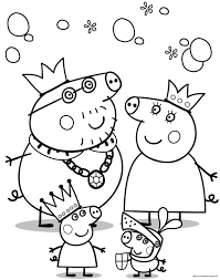 peppa pig coloring page colouring pages shimosoku biz