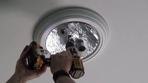 how to install a harbor breeze ceiling fan from lowes youtube