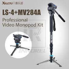 Mini Table Ls Xiletu Mv284a Ls4 Professional Monopod Kit For Camcorder