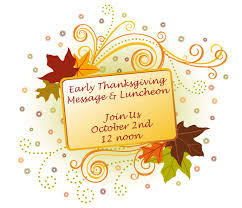 applewood heights gospel early thanksgiving message luncheon
