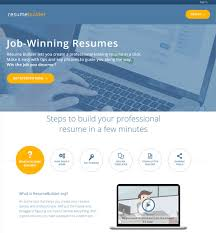 Best Resume Maker Software Resume Builders For Free Resume Template And Professional Resume