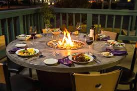 Patio Fireplace Table Patio Fire Pit Table Propane U2013 Jackiewalker Me