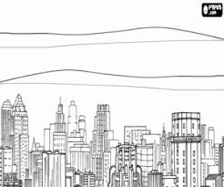 city skyline coloring pages pictures to pin on pinterest pinsdaddy