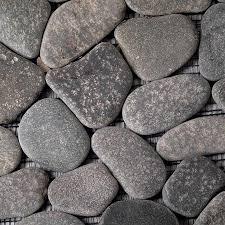 river rock tile flooring flooring ideas