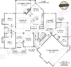 ranch floor plans with walkout basement main floor home architecture spanish style house plans santa ana associated