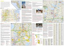 Map Orlando Airport by Orlando National Geographic Destination City Map National
