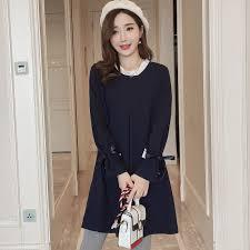 pregnancy clothes new korean fashion pregnancy women tunic sleeve maternity