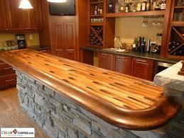 Building A Wood Bar Top Diy Wood Bar Tops Do It Your Self