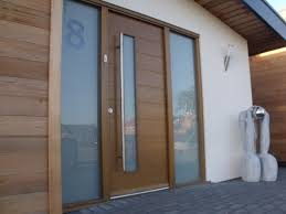 Double Front Entrance Doors by Decor Sidelights And Modern Double Front Entry Doors With Wood
