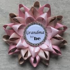 grandma to be pin new grandma gift rustic baby shower