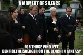 Ben Roethlisberger Meme - 22 meme internet a moment of silence for those who left ben