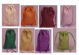 burlap party favor bags colored burlap favor bags burlap gift bag