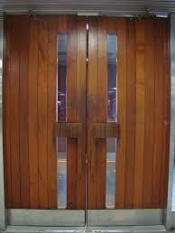 modern front double door