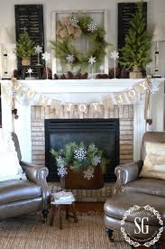 Indoor Wreaths Home Decorating by Creative Way To Use Wreaths Stonegable