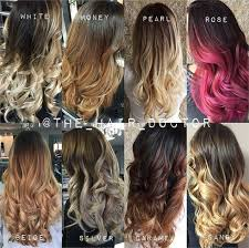 ambra hair color 8 ways to take ombre to the next level career modern salon