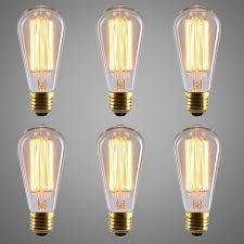 industrial halogen light fixtures 10pcs edison industrial halogen bulb st64 120v 220v revolution