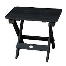 Highwood Hamilton Folding U0026 Reclining Folding Adirondack Side Table Outdoor Furniture Patio