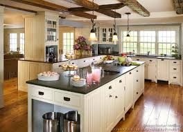 Country House Kitchen Design Kitchen Kitchen Cabinets Traditional White Island Sink Ceiling