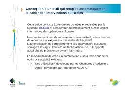 chambre d agriculture carcassonne projet ticsad les technologies de l information et de la communicat